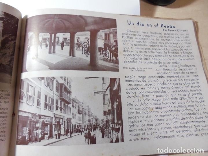 Militaria: magnifico libro gibraltar español reseña grafica de una parte de nuestro territorio nacional de 1940 - Foto 22 - 276222633