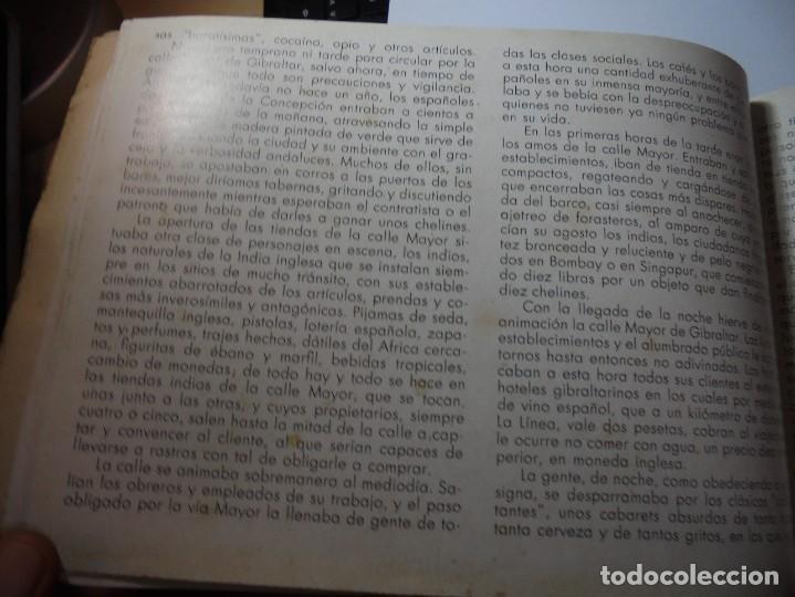 Militaria: magnifico libro gibraltar español reseña grafica de una parte de nuestro territorio nacional de 1940 - Foto 23 - 276222633