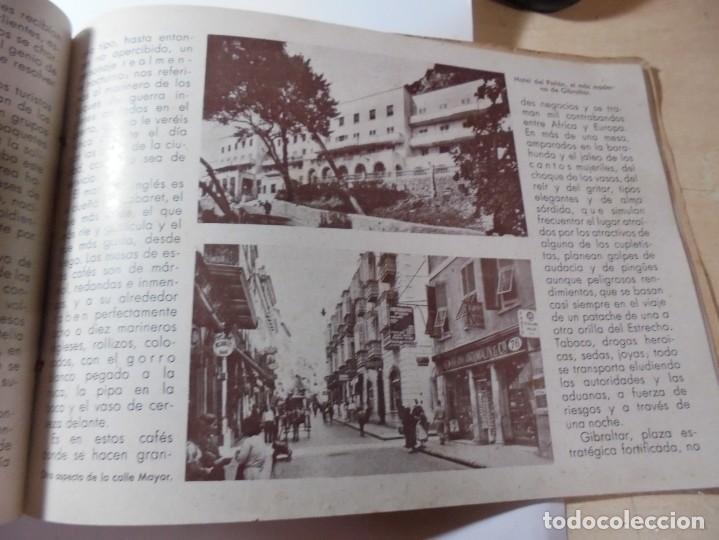 Militaria: magnifico libro gibraltar español reseña grafica de una parte de nuestro territorio nacional de 1940 - Foto 24 - 276222633