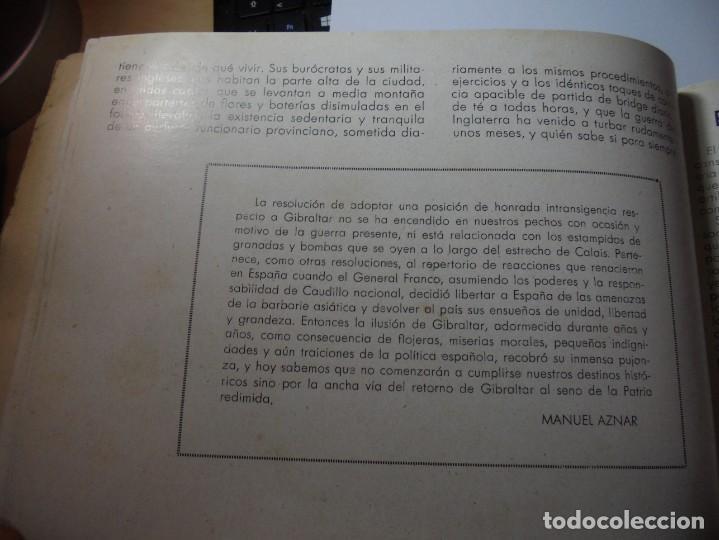 Militaria: magnifico libro gibraltar español reseña grafica de una parte de nuestro territorio nacional de 1940 - Foto 25 - 276222633