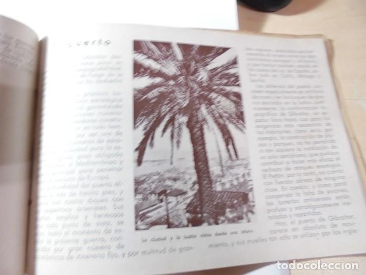 Militaria: magnifico libro gibraltar español reseña grafica de una parte de nuestro territorio nacional de 1940 - Foto 26 - 276222633