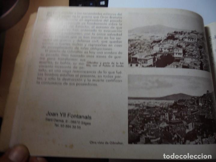 Militaria: magnifico libro gibraltar español reseña grafica de una parte de nuestro territorio nacional de 1940 - Foto 27 - 276222633