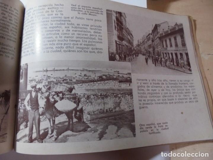 Militaria: magnifico libro gibraltar español reseña grafica de una parte de nuestro territorio nacional de 1940 - Foto 30 - 276222633