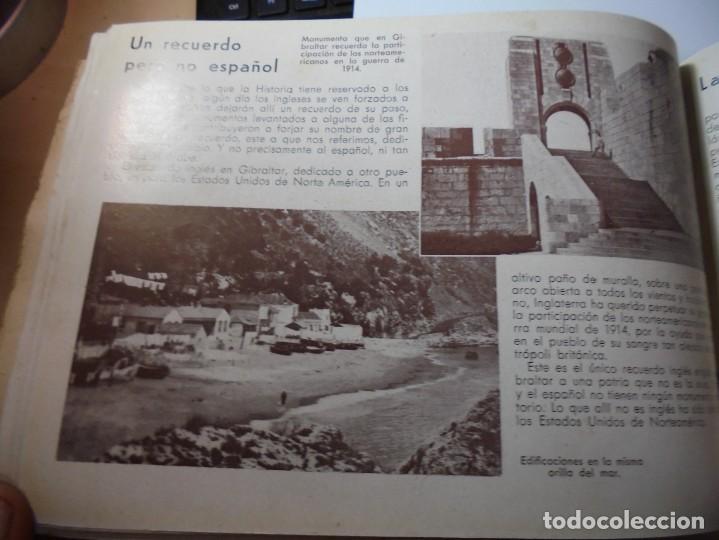 Militaria: magnifico libro gibraltar español reseña grafica de una parte de nuestro territorio nacional de 1940 - Foto 33 - 276222633