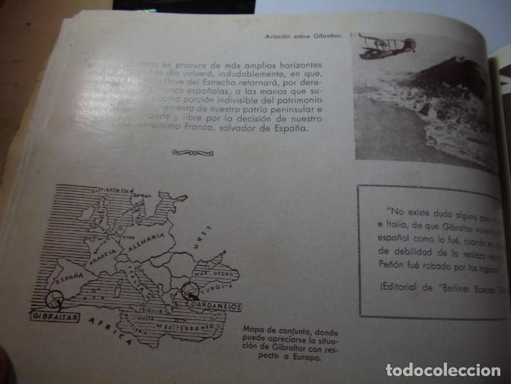 Militaria: magnifico libro gibraltar español reseña grafica de una parte de nuestro territorio nacional de 1940 - Foto 35 - 276222633