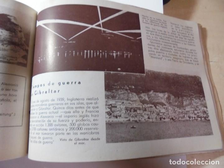 Militaria: magnifico libro gibraltar español reseña grafica de una parte de nuestro territorio nacional de 1940 - Foto 36 - 276222633