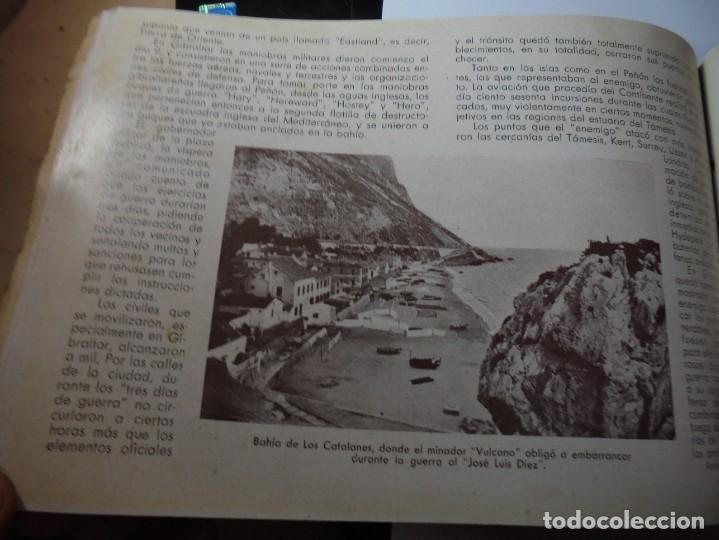 Militaria: magnifico libro gibraltar español reseña grafica de una parte de nuestro territorio nacional de 1940 - Foto 37 - 276222633