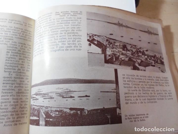 Militaria: magnifico libro gibraltar español reseña grafica de una parte de nuestro territorio nacional de 1940 - Foto 38 - 276222633