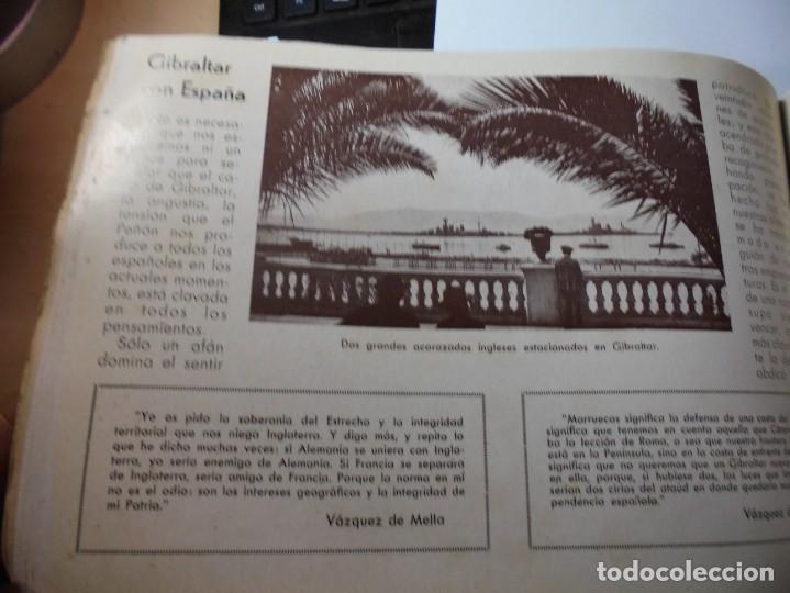 Militaria: magnifico libro gibraltar español reseña grafica de una parte de nuestro territorio nacional de 1940 - Foto 39 - 276222633