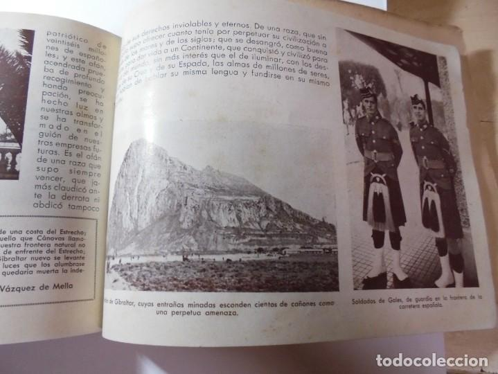 Militaria: magnifico libro gibraltar español reseña grafica de una parte de nuestro territorio nacional de 1940 - Foto 40 - 276222633