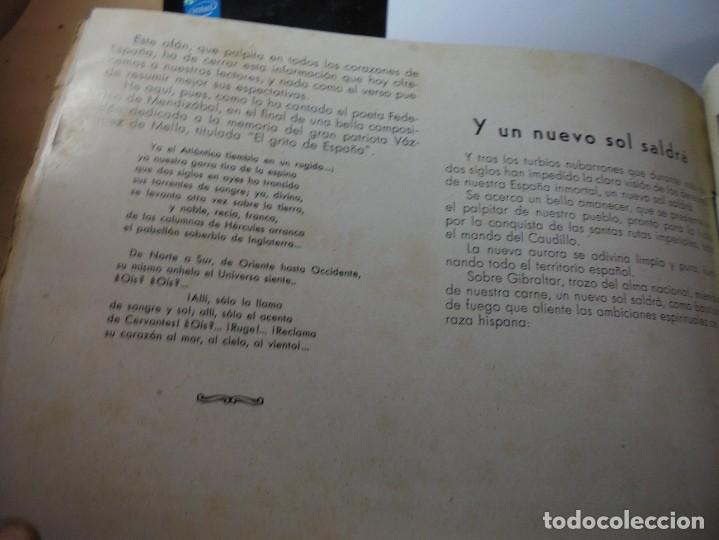 Militaria: magnifico libro gibraltar español reseña grafica de una parte de nuestro territorio nacional de 1940 - Foto 41 - 276222633
