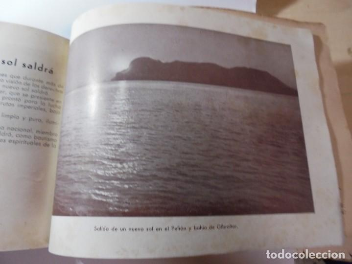 Militaria: magnifico libro gibraltar español reseña grafica de una parte de nuestro territorio nacional de 1940 - Foto 42 - 276222633