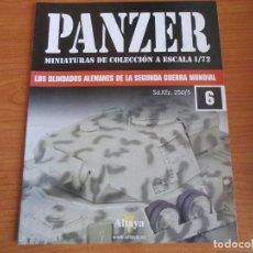 Militaria: PANZER: FASCICULO Nº 6 - LOS BLINDADOS ALEMANES DE LA SEGUNDA GUERRA MUNDIAL (ALTAYA). Lote 276520488