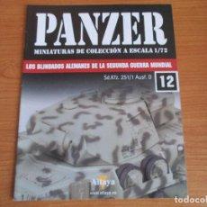Militaria: PANZER: FASCICULO Nº 12 - LOS BLINDADOS ALEMANES DE LA SEGUNDA GUERRA MUNDIAL (ALTAYA). Lote 276521158