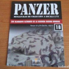 Militaria: PANZER: FASCICULO Nº 18 - LOS BLINDADOS ALEMANES DE LA SEGUNDA GUERRA MUNDIAL (ALTAYA). Lote 276521468