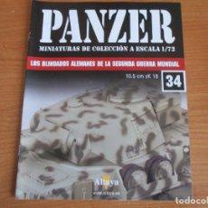 Militaria: PANZER: FASCICULO Nº 34 - LOS BLINDADOS ALEMANES DE LA SEGUNDA GUERRA MUNDIAL (ALTAYA). Lote 276522223