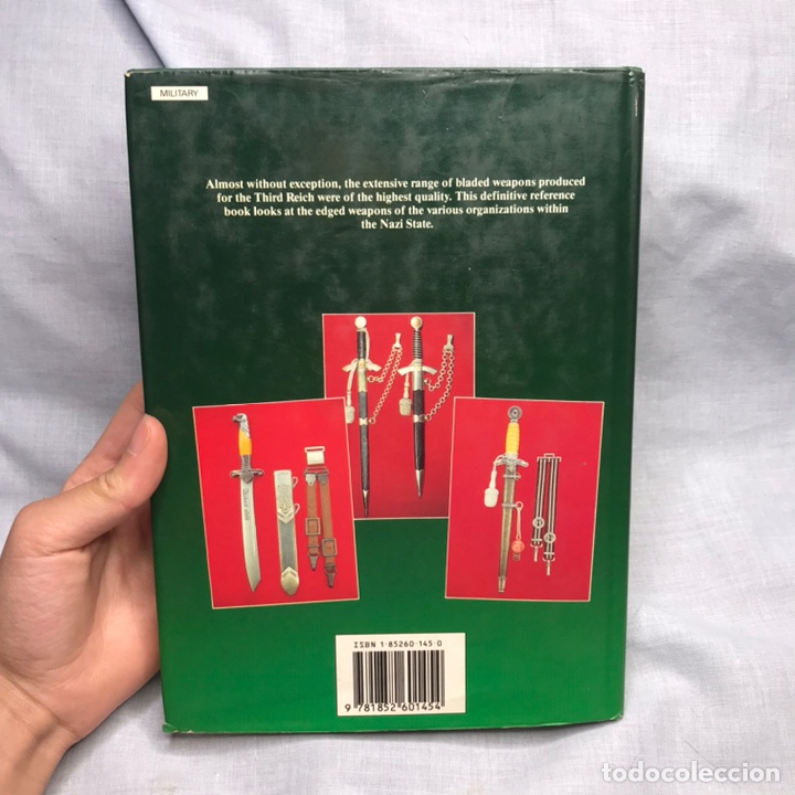 Militaria: LIBRO DAGGERS SWORDS AND BAYONETS OF THE THIRD REICH - DAGAS - BAYONETAS - CUCHILLOS - Foto 19 - 276566448