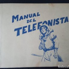 Militaria: MANUAL DEL TELEFONISTA NAVAL IMPRESO EN CARTAGENA EL AÑO 1961. Lote 276591208