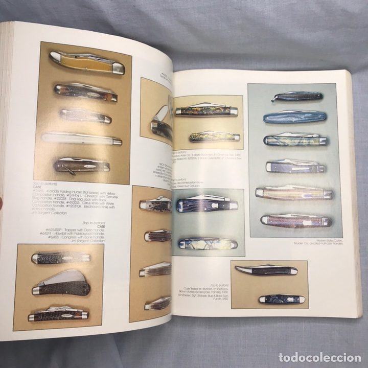 Militaria: LIBRO CUCHILLOS NAVAJAS AMERICAN PREMIUM GUIDE TO POCKET KNIVES & RAZORS - Foto 8 - 276681373