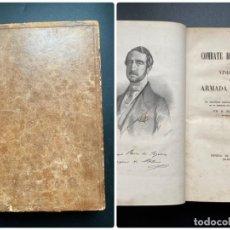Militaria: COMBATE DE TRAFALGAR. MANUEL MARLIANI. MADRI, 1850. PAGS: 109. Lote 276965858