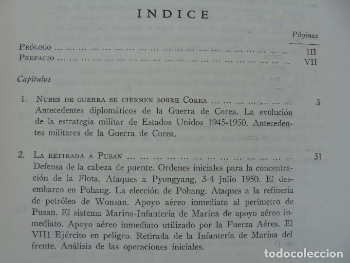 Militaria: LA GUERRA EN EL MAR EN COREA. EDITORIAL NAVAL. MELCON W. COGLE. FRANK A. MANSON. 1966 - Foto 7 - 277040943