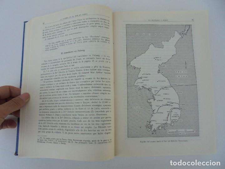 Militaria: LA GUERRA EN EL MAR EN COREA. EDITORIAL NAVAL. MELCON W. COGLE. FRANK A. MANSON. 1966 - Foto 14 - 277040943