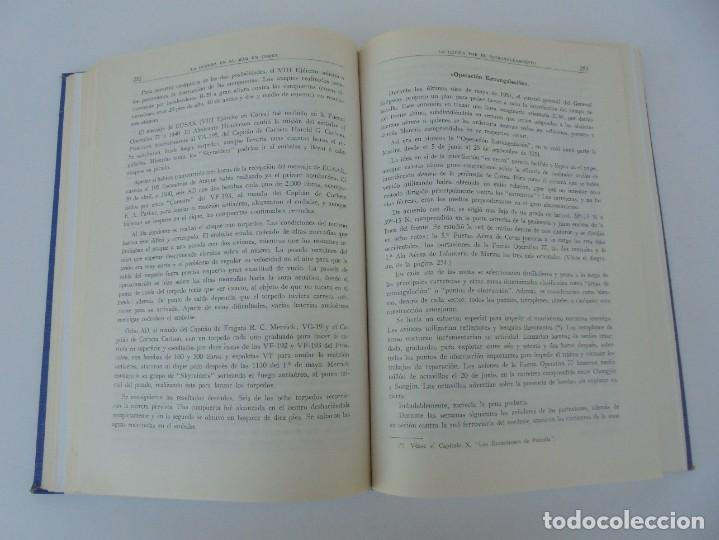Militaria: LA GUERRA EN EL MAR EN COREA. EDITORIAL NAVAL. MELCON W. COGLE. FRANK A. MANSON. 1966 - Foto 16 - 277040943