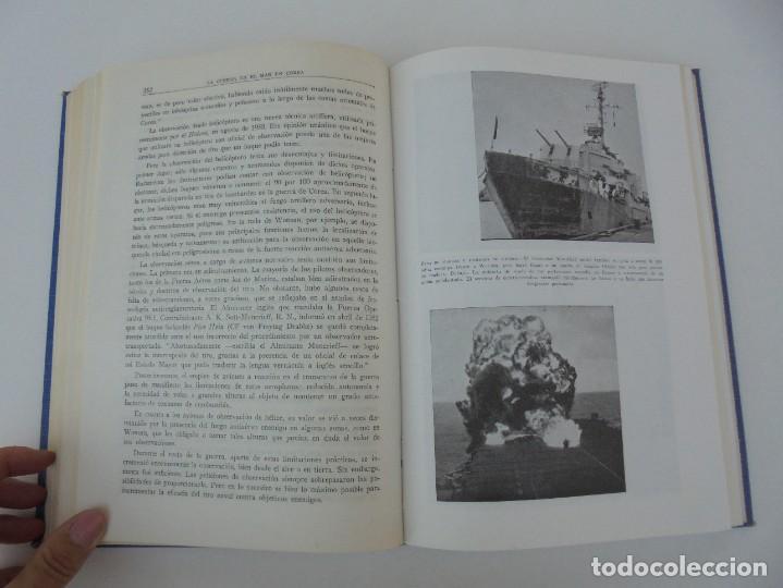 Militaria: LA GUERRA EN EL MAR EN COREA. EDITORIAL NAVAL. MELCON W. COGLE. FRANK A. MANSON. 1966 - Foto 18 - 277040943