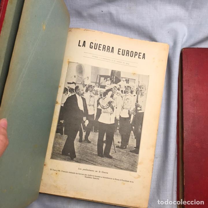 Militaria: LIBRO LA GUERRA EUROPEA 2 TOMOS REVISTAS SEMANARIO - Foto 15 - 277129853