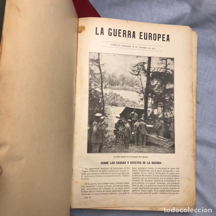 Militaria: LIBRO LA GUERRA EUROPEA 2 TOMOS REVISTAS SEMANARIO - Foto 24 - 277129853