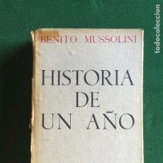 Militaria: HISTORIA DE UN AÑO, 7ª EDICIÓN. Lote 277608298