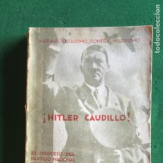 Militaria: HITLER CAUDILLO. Lote 277608673