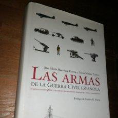 Militaria: LAS ARMAS DE LA GUERRA CIVIL ESPAÑOLA. JOSÉ MARÍA MANRIQUE Y LUCAS MOLINA. 612 PÁGINAS.. Lote 278693168