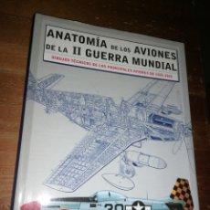 Militaria: ANATOMIA DE LOS AVIONES DE LA II GUERRA MUNDIAL. DIBUJOS TÉCNICOS DE LOS PRINCIPALES AVIONES 1939-45. Lote 278693438