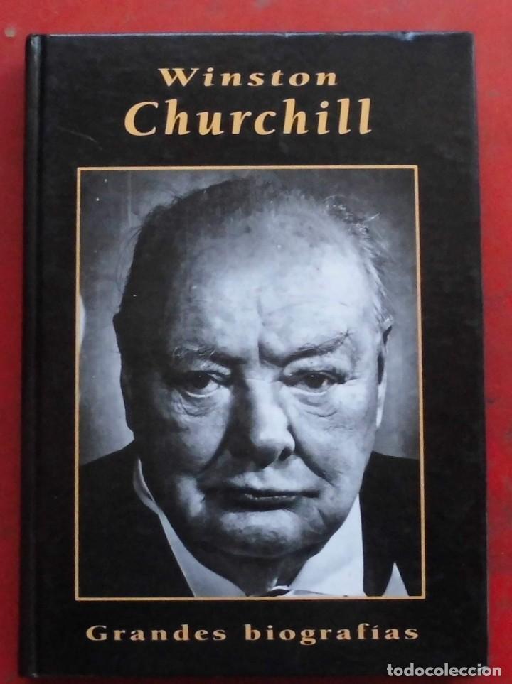 WINSTON CHURCHILL. GRANDES BIOGRAFÍAS. LIBRO NUEVO (Militar - Libros y Literatura Militar)
