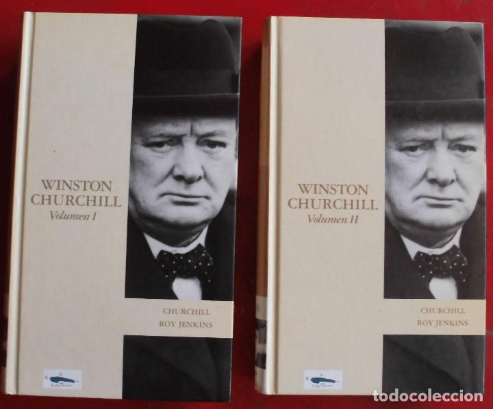 WINSTON CHURCHILL. ROY JERKINS. DOS LIBROS (Militar - Libros y Literatura Militar)
