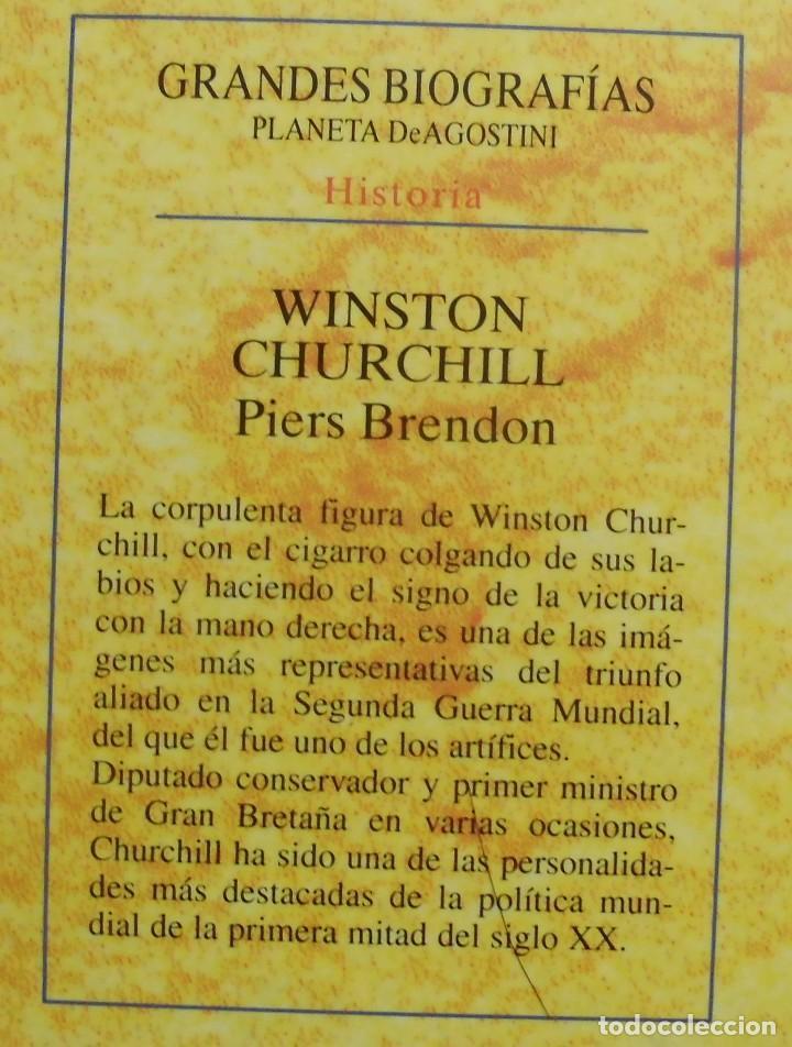 Militaria: WINSTON CHURCHILL. PIERS BRENDON. LIBRO NUEVO - Foto 2 - 287695543