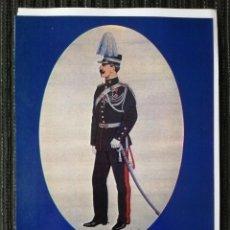 Militaria: 13 LÁMINAS DE UNIFORMES DE LA POLICIA GENDARMERIA DE GRECIA. HELLENIC POLICE UNIFORMS. Lote 288017338