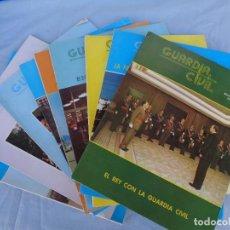 Militaria: REVISTA GUARDIA CIVIL AÑO 1979, LOTE DE 9 REVISTAS DE ENERO A SEPTIEMBRE.. Lote 288212963