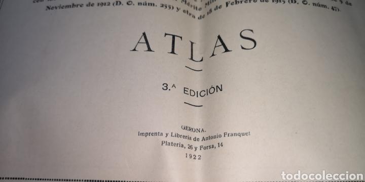 Militaria: Guía del oficial de artillería telemetrista año 1922, 14 láminas - Foto 2 - 288217568
