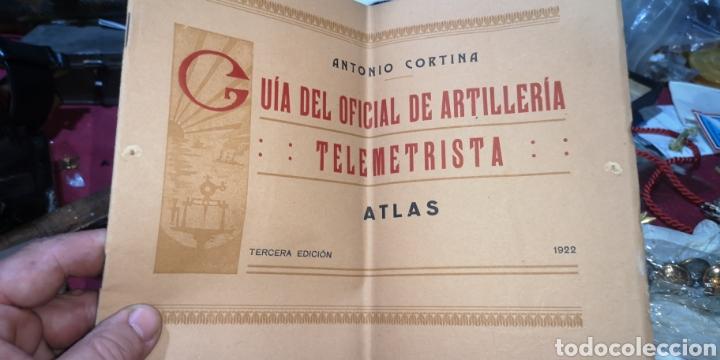 GUÍA DEL OFICIAL DE ARTILLERÍA TELEMETRISTA AÑO 1922, 14 LÁMINAS (Militar - Libros y Literatura Militar)
