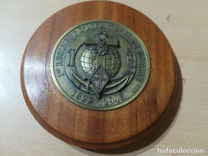 1ER REGIMENT D´INFATERIE DE MARINE 1822 1945 / METOPA, PLACA / / AL93 (Militar - Libros y Literatura Militar)