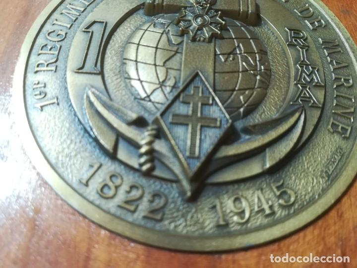 Militaria: 1ER REGIMENT D´INFATERIE DE MARINE 1822 1945 / METOPA, PLACA / / AL93 - Foto 2 - 288401698