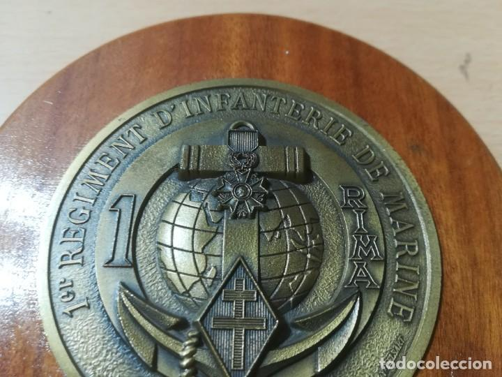 Militaria: 1ER REGIMENT D´INFATERIE DE MARINE 1822 1945 / METOPA, PLACA / / AL93 - Foto 4 - 288401698