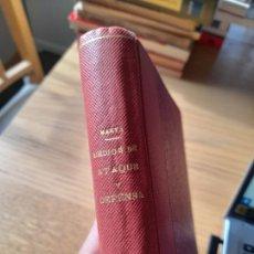 Militaria: ESTUDIO HISTÓRICO DE LOS MEDIOS DE ATAQUE Y DEFENSA, JOSÉ MARVÁ Y MAYER - 1903. Lote 288876623