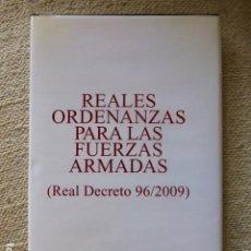 Militaria: REALES ORDENANZAS PARA LAS FUERZAS ARMADAS REAL DECRETO 96/2009. Lote 289299028