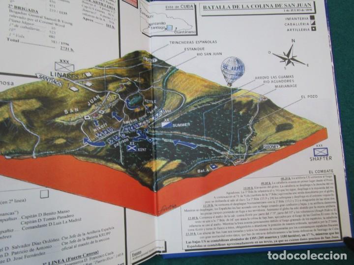 Militaria: CUBA 1899 LA GUERRA CON ESTADOS UNIDOS - ANTONIO CARRASCO GARCIA - EDI ALMENA 1998 1.3KG + - Foto 4 - 293478943