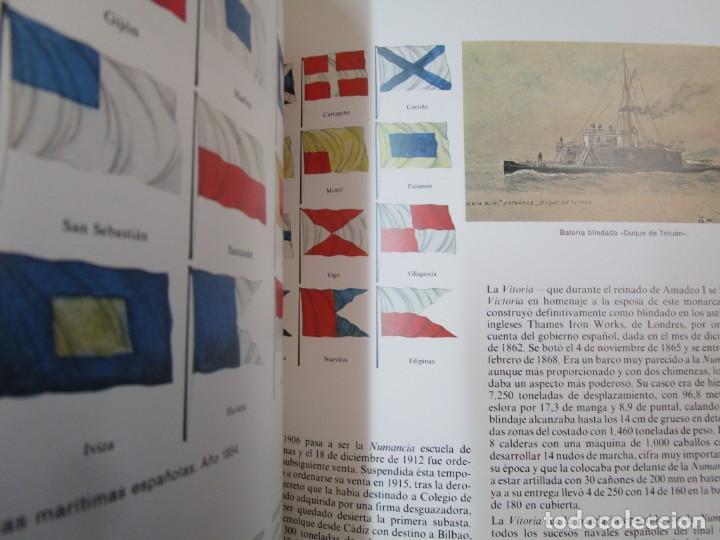 Militaria: EL BUQUE EN LA ARMADA ESPAÑOLA - VV.AAA - SILEX EDI 1981 1ª EDICION 2.9kg PLENO FOTOGRAFIAS + info - Foto 8 - 293485518