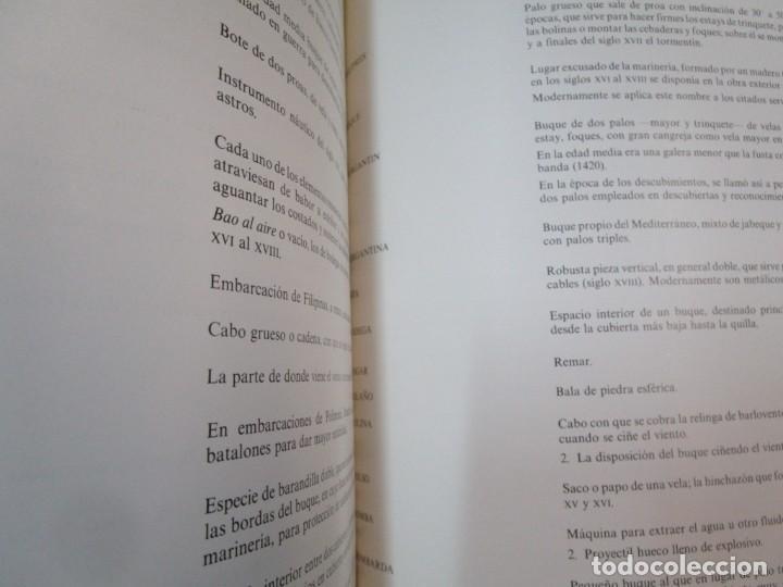 Militaria: EL BUQUE EN LA ARMADA ESPAÑOLA - VV.AAA - SILEX EDI 1981 1ª EDICION 2.9kg PLENO FOTOGRAFIAS + info - Foto 16 - 293485518
