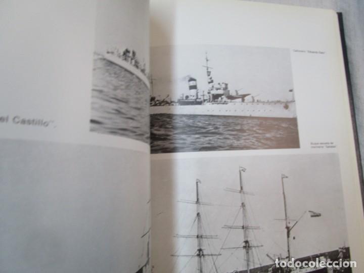 Militaria: EL BUQUE EN LA ARMADA ESPAÑOLA - VV.AAA - SILEX EDI 1981 1ª EDICION 2.9kg PLENO FOTOGRAFIAS + info - Foto 20 - 293485518